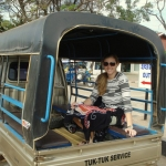 Laura in Thailand