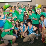 Levine Scholars and other students at Dance Marathon.