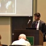 Joey presented his research during UNC Charlotte's Undergraduate Research Conference.