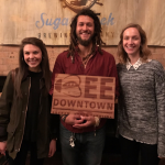 Addy and Caroline brought beehives to Charlotte to promote sustainability.