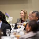 Isabel Fee at the 2016 Levine Scholars Finalist Program Dinner.