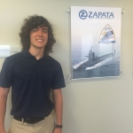 Esteban complete an engineering internship with Zapata, Inc.