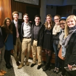 """Levine Scholars enjoyed a presentation of """"Wicked"""" at Ovens Auditorium."""