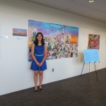 Through Patchwork Epiphany, Noelle facilitated art workshops for patients at the Levine Children's Hospital and hosted an art exhibit showcasing child and UNC Charlotte student art with an accompanying silent auction fundraiser.