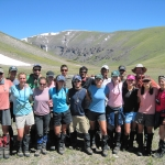 Class of 2014 with the NOLS instructors
