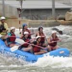 End of year celebration at the US National Whitewater Center
