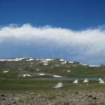 Tents used each night in Wyoming