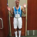 Casey Aldridge prepare for Dance Marathon.