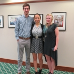 Tanner and Jackie created a video and art exhibit to showcase UNC Charlotte student Victoria Byers' (pictured left) photography project documenting the China Grove Latino community.