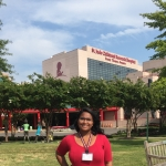 Erica spent a summer conducting cancer research at St. Jude Children's Research Hospital in Memphis, TN.