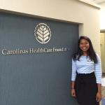 Vidhya Balasubramanian at Carolinas HealthCare Foundation