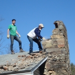 Levine Scholars spent a week in West Virginia rebuilding a home during the program's first Alternative Spring Break trip.