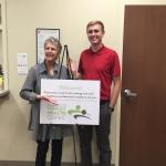 Seth Flynn at the Charlotte Community Health Clinic