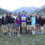 First night on the NOLS expedition