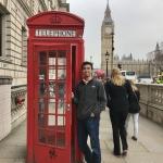 Patrick in London