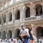 Randy in Rome